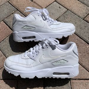 Nike Air Max 90 Leather White Grade Sneakers